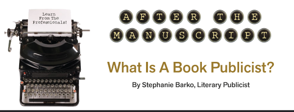 book publicist