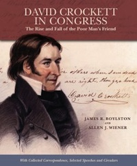 David Crockett in Congress by James Boylston and Allen Weiner