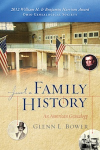 Just a Family History by Glenn Bower